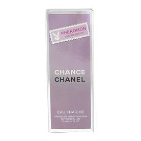 Парфюмерное масло с феромонами Chanel Chance eau fraiche 10ml