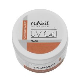 RuNail Гель камуфлирующий персик 15г