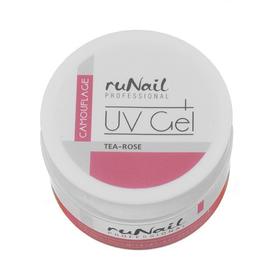 RuNail Гель камуфлирующий розовый/чайная роза 15г