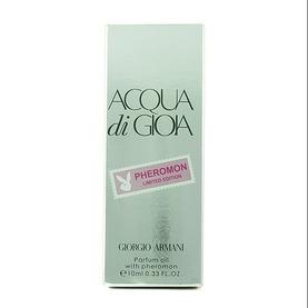 Парфюмерное масло с феромонами Giorgio Armani Acqua di Gioia 10ml
