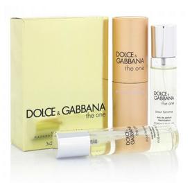 Парфюмерный набор Dolce & Gabbana The One 3*20 ml