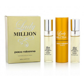 Paco Rabanne Lady Million 3*20ml (жен)